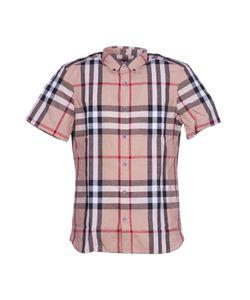 Burberry London   Burberry Checked Shortsleeved Shirt