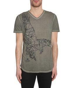 Tom Rebl | V Collar T-Shirt