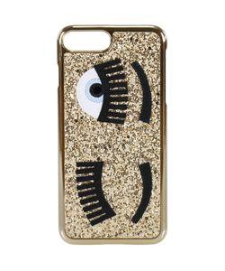 Chiara Ferragni   Case Iphone 7plus With Glitter Eyes