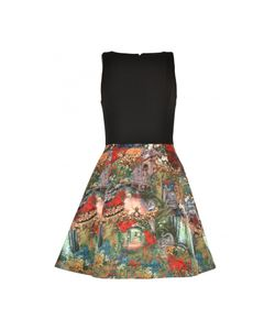 Alice + Olivia | Dress With Printed Skirt