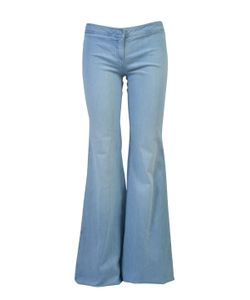 Balmain | Stretch Cotton Mid-Rise Flared Jeans
