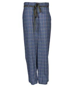 Hache | Plaid Trousers