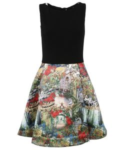 Alice + Olivia   Printed Skirt Dress