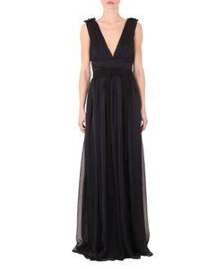 Marco Bologna | Solid Chiffon Long Dress