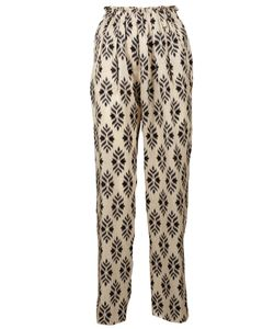 Forte Forte | Printed Slim-Fit Trousers