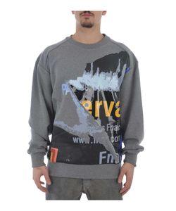 Juun.J | Zip Printed Sweatshirt