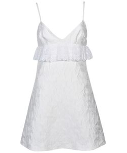 Giamba | Ruffled Sleeveless Dress