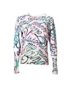 Kenzo   Calligraphy Print Sweater