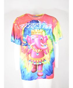 Moschino | Crowned Elephant Tie-Dye T-Shirt