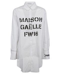 Gaelle Bonheur | High Low Hem Shirt