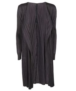Pleats Please By Issey Miyake | Pleated Cardi-Coat