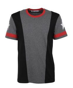 Givenchy | Star Print Paneled T-Shirt