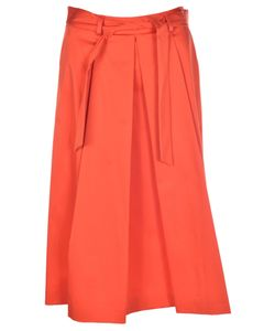 Boutique Moschino | Pleated Belted Skirt