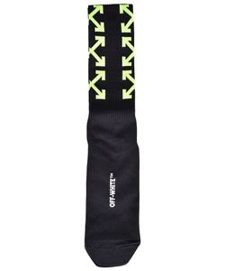 Off-White | Logo Print Socks