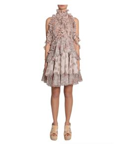 Alexander McQueen | Dress With Rouches