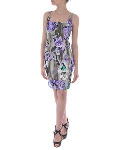 Versace Collection | Shoulder Clasp Dress