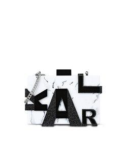 Karl Lagerfeld | Marble Clutch