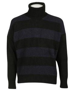 AMI Alexandre Mattiussi   Striped Turtleneck Sweater