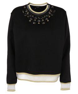 Fendi   Embellished Sweatshirt