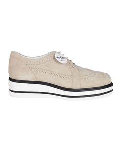 Hogan | Bucature Detail Lace-Up Shoes