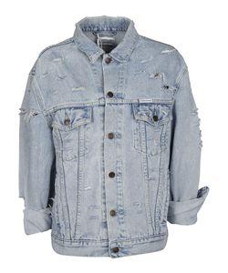 Forte Couture | Yeah Distressed Denim Jacket
