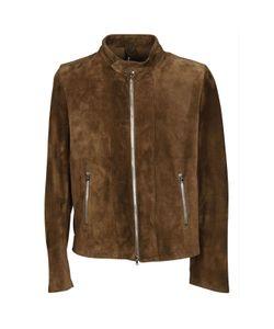 Dacute | Zipped Leather Jacket