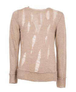 Comme Des Garçons | Destroyed Ladder Stitch Sweater