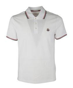 Moncler | Contrast-Trim Polo Shirt