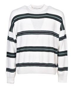 AMI Alexandre Mattiussi | Ami Striped Boxy Sweatshirt