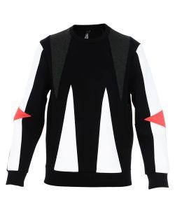 Neil Barrett   Triangle Panelled Sweater
