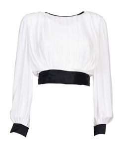 Alice + Olivia | Tied Blouse From Tied Blouse With Round