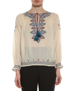 Talitha | Sindhi Embroidered Voile Top