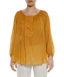 FORTE-FORTE | Voile Lace Top