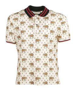 Gucci   Jersey Stretch Polo Shirt
