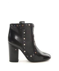 Laurence Dacade | Pete Star-Studded Leather Ankle Boots