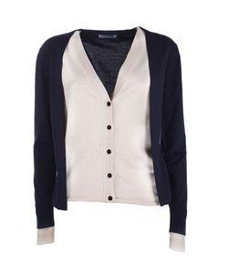 J.W.Anderson | Fine Merino Wool Layered Cardigan