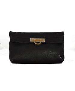 Salvatore Ferragamo | Gancio Flap Clutch