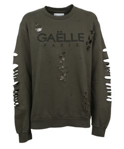 Gaelle Bonheur | Distressed Sweatshirt