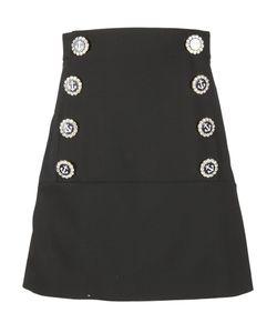 Dolce & Gabbana | Logo Plaque Skirt