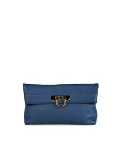 Salvatore Ferragamo | May Pebbled-Leather Clutch Bag