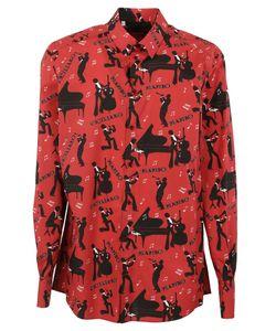 Dolce & Gabbana | Musical Instrument Print Shirt