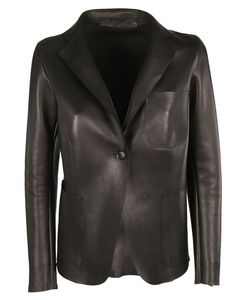 Salvatore Santoro | Leather Blazer
