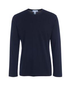 Comme Des Garçons | T-Shirt Shirt Nera Logo Stampato