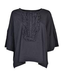 Boutique Moschino | Ruffled Front Bib T-Shirt