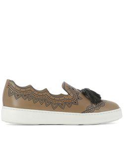 Santoni | Leather Loafers