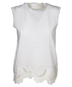 Victoria Beckham | Lace Detailed Tank Top