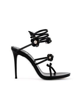Rene Caovilla | Flower Embellished Sandals