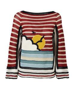 RED Valentino   Crochet Sweater