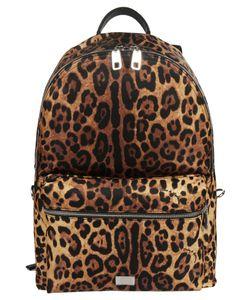 Dolce & Gabbana | Leopard Print Backpack