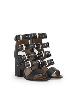 Laurence Dacade | Kloe Buckled Leather Sandals